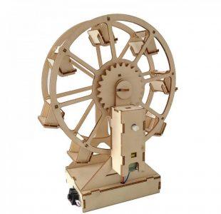 لعبة ترتيب الخشب تركيب عجلة خشب - متجر ايڤيت ستور