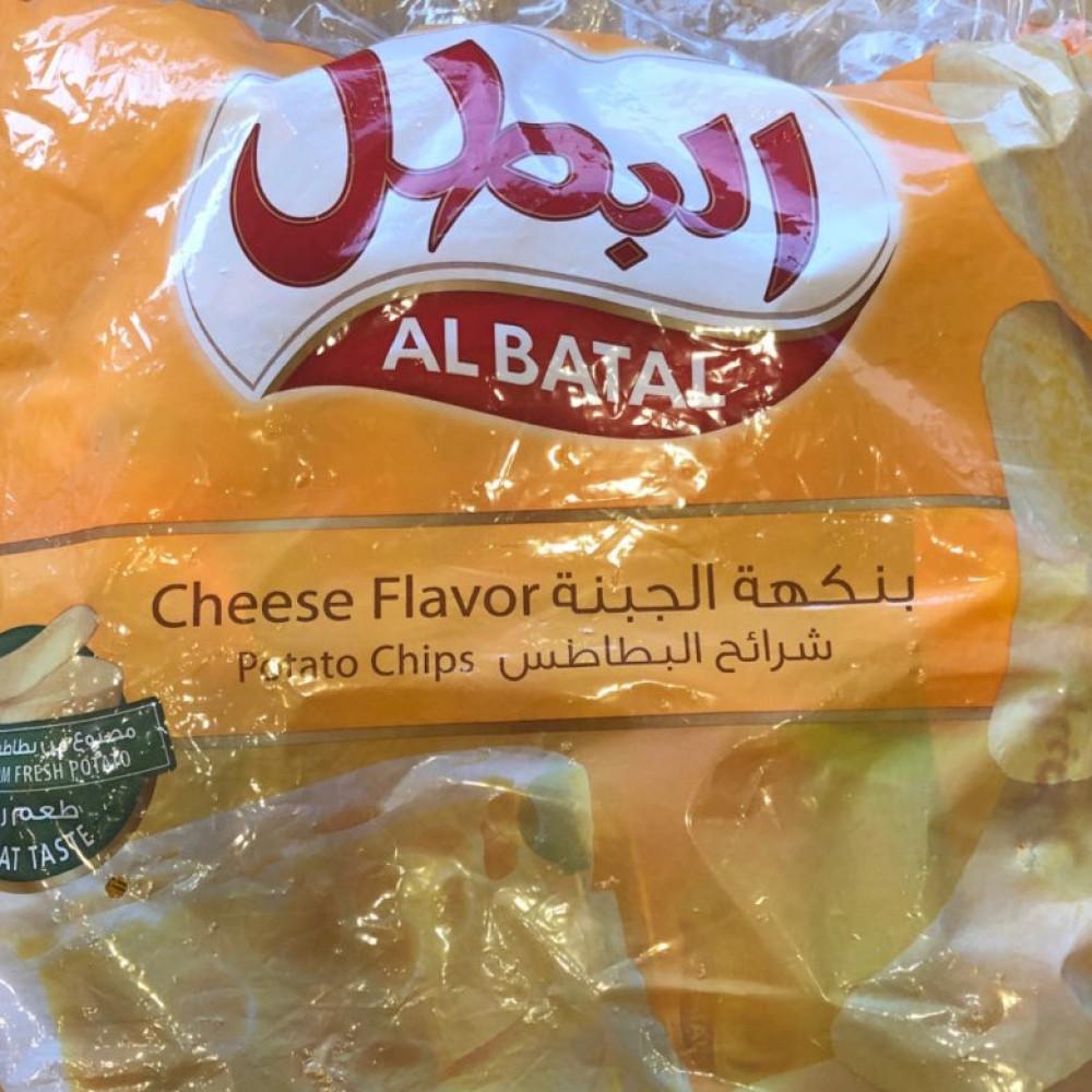 بطاطس البطل نكهة جبنة 14ج متجر الطائف
