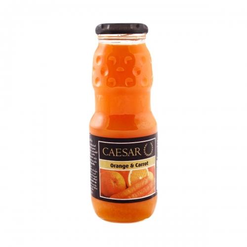 عصير سيزر برتقال وجزر وعنب 250مل متجر الطائف